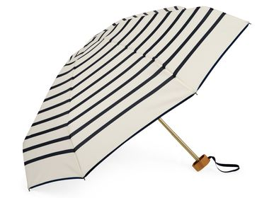 Travel accessories / suitcase - Stripy micro-umbrella - Navy stripes - HENRI - ANATOLE