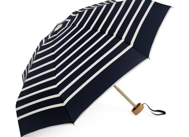 Apparel - Striped micro-umbrella - White stripes - PABLO - ANATOLE