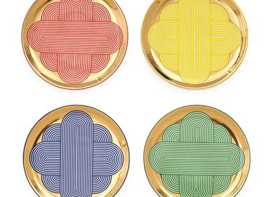 Decorative objects - POMPIDOU COASTER SET - JONATHAN ADLER