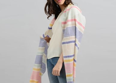 Scarves - Nquash cashmere scarf - SADHU HANDMADE NATURALS