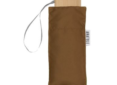 Apparel - Augustine Micro-Umbrella - Caramel Brown - ANATOLE