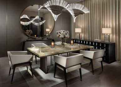 Dining Tables - TIFFANY DINING SET - FORMUS