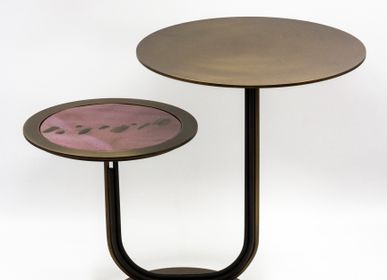 Design objects - Two-level table - GALERIE JACQUES OUAISS