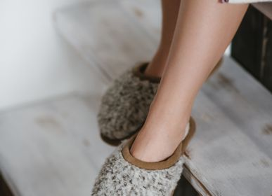Slippers / shoes - WOOL SLIPPERS - FLOKATI NATURAL WOOL PRODUCTS