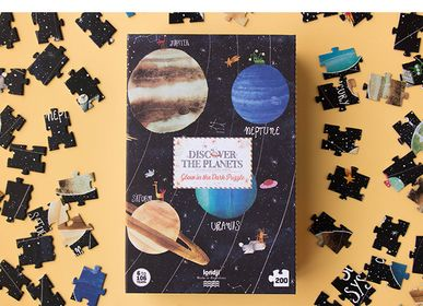 Games - DISCOVER THE PLANETS PUZZLE - LONDJI