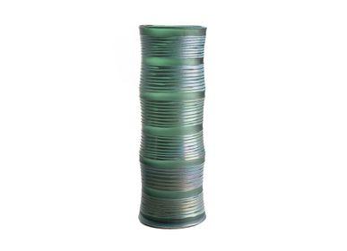 Vases - Vase En Verre Jaune/Vert - ASIATIDES