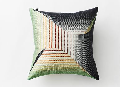 Cushions - Bloomsbury Square Two-sided Cushion Covers - YEN TING CHO STUDIO