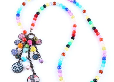 Jewelry - Long cluster necklace Litchi classics - LITCHI