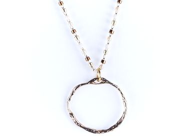 "Jewelry - Necklace ""The Ring"" - LITCHI"