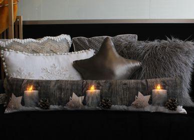 Fabric cushions - CUSHION CANDLES LED LIGHTS - PETIT ALO