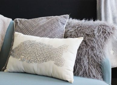 Coussins - FISH MOTIF CUSHION - PETIT ALO