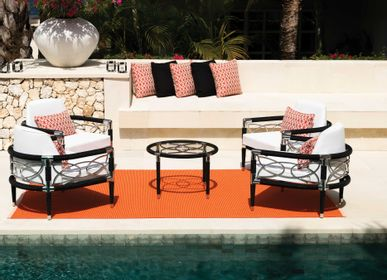 Lawn armchairs - Davos Collection - INDIAN OCEAN