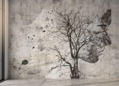 Chambres d'hôtels - AH 60 | Papier Peint Artisanal - AFFRESCHI & AFFRESCHI