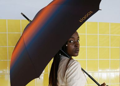 Ready-to-wear - Rain Umbrella - Orion bleu rouille - Klaoos - KLAOOS