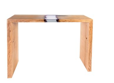Consoles - Wood and Resin Side Console - MEUBLES THOURET