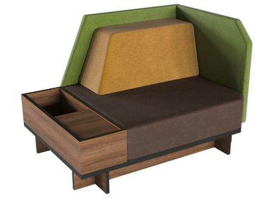Small sofas - Modular sofa D7 - ZEBRANO