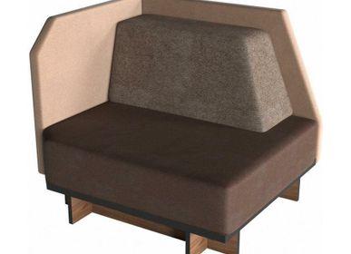 Small sofas - Modular sofa D2 - ZEBRANO