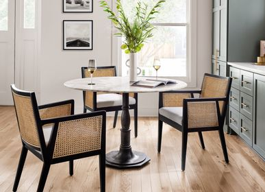 Seats - ANTONIA DINING ARM CHAIR - FUSE HOME