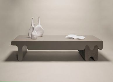 Design objects - OSSICLE LEATHER TABLES & CONSOLES - GIOBAGNARA