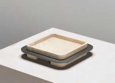 Design objects - LLOYD TRAVERTINE TRAYS - GIOBAGNARA
