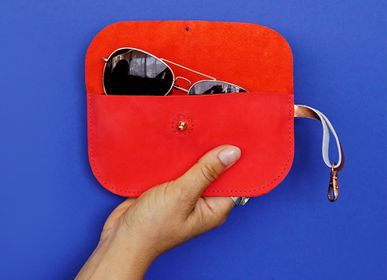 Leather goods - Leather spectacle cases - RENSKE VERSLUIJS