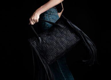 Sacs / cabas - ALEX Medium Black Jeans - RENIM PROJECT