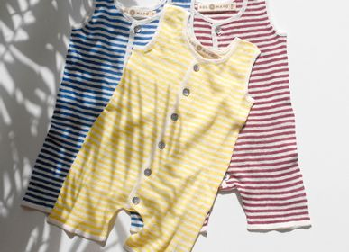 Children's fashion - ELIN. 100% linen collection. Knitwear - SOL DE MAYO