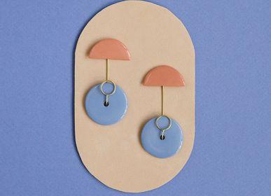 Bijoux - Boucles d'oreilles en porcelaine - RENSKE VERSLUIJS