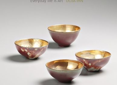 Bowls - DAOR-Red Gold Bowl - DOJA IHN
