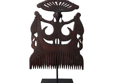 Decorative objects - Large Tanimbar Wooden Comb - NYAMAN GALLERY BALI