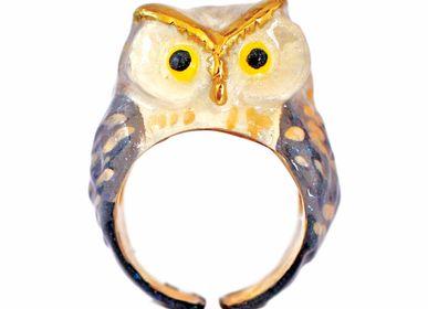 Jewelry - Snow Queen Owl Ring - MONVATOO LONDON