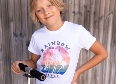 Mode enfantine - TSHIRT KIDS RAINBOW  - FABULOUS ISLAND LTD