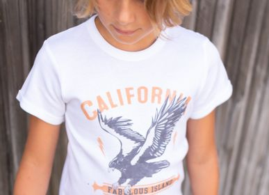 Mode enfantine - TSHIRT KIDS EAGLE CALIFORNIA - FABULOUS ISLAND LTD