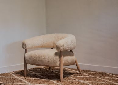 Small armchairs - Elegant & Cosy Furniture - JACQUES FLAMANT - THE REBORN HOME