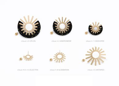 Jewelry - earrings - studs - PEAU DE FLEUR