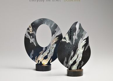 Decorative objects - NEOUL-Mother-of-pearl Lighting - DOJA IHN