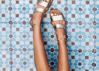 Shoes - Handmade leather sandals - CHABI CHIC