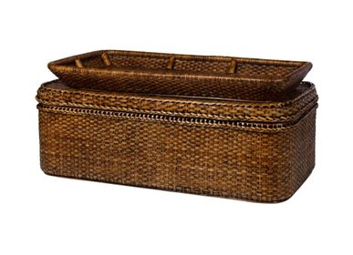 Other tables - Rattan Chest/Table with Serving Tray - ISHELA EUROPA LDA