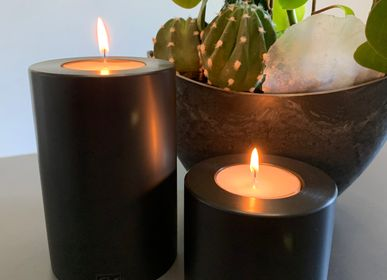 Decorative objects - Farluce Trend black- everlasting candle - QULT DESIGN GMBH