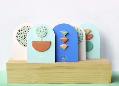 Objets de décoration - Présentoir en bois - RENSKE VERSLUIJS