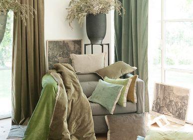 Plaids - Bout de lit - Sofa cover Médicis - EN FIL D'INDIENNE...