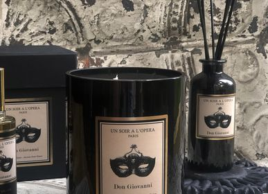 Candles - Scented candle natural vegetable wax - DON GIOVANNI - UN SOIR A L'OPERA