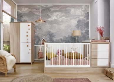 Beds - Compact baby bed (available in 2 colors) SACHA - GALIPETTE