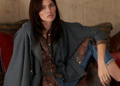 Ready-to-wear - Poncho Terry - LA CABANE DE STELLA