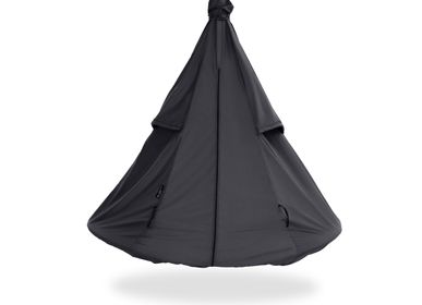 Outdoor floor coverings - Black Pod Weather Cover - HANGOUT POD