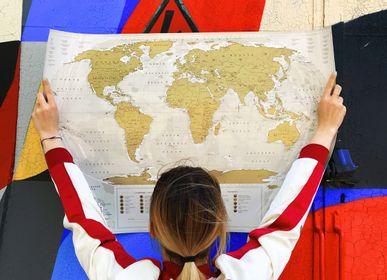 Paréo - Travel Map® Géographie Monde - 1DEA.ME DESIGN GIFTS