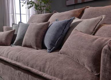 Sofas - HOMY LINEN SOFA - SO SKIN - IDASY