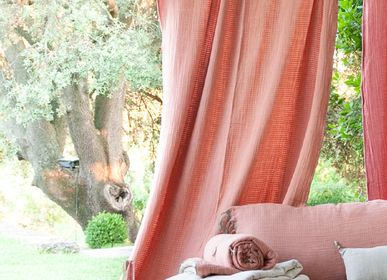 Curtains and window coverings - WAVY Stoned Cotton Curtain - EN FIL D'INDIENNE...