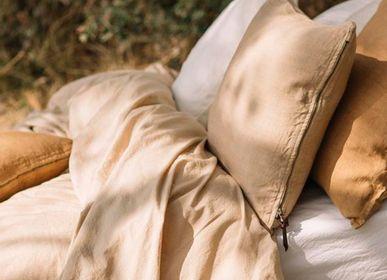 Bed linens - Duvet Cover - Washed Cotton - Sand Color - LO DE MANUELA