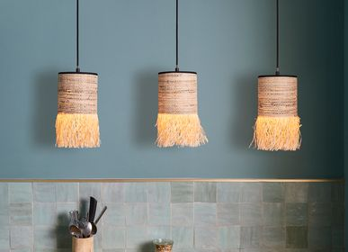 Outdoor hanging lights - 3-light FORMENTERA pendant light - MARKET SET